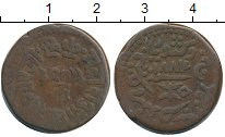 Изображение Монеты Азия Кач 1 докдо 1884 Медь VF+
