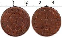 Изображение Монеты Непал 5 пайс 1961 Бронза XF