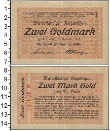 Изображение Банкноты Германия : Нотгельды 2 марки 1923  XF