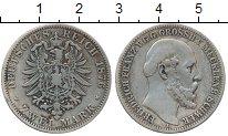 Изображение Монеты Германия Мекленбург-Шверин 2 марки 1876 Серебро