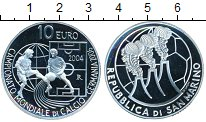 Изображение Монеты Сан-Марино 10 евро 2004 Серебро  Чемпионат мира по фу
