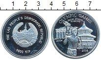 Изображение Монеты Лаос 1000 кип 2004 Серебро  Олимпийские игры, От