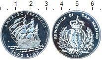 Изображение Монеты Сан-Марино 5000 лир 1995 Серебро