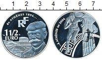 Изображение Монеты Европа Франция 1 1/2 евро 2003 Серебро
