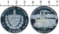 Изображение Монеты Куба 10 песо 1998 Серебро