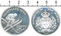 Изображение Монеты Европа Сан-Марино 1000 лир 1994 Серебро