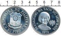 Изображение Монеты Филиппины 50 писо 1979 Серебро