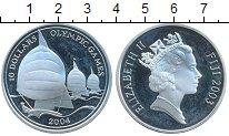 Изображение Монеты Фиджи 10 долларов 2004 Серебро  Олимпийские игры, Па