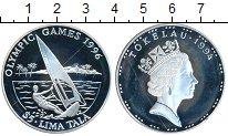 Изображение Монеты Токелау 5 тала 1994 Серебро