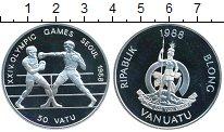 Изображение Монеты Вануату 50 вату 1988 Серебро
