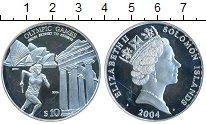 Изображение Монеты Австралия и Океания Соломоновы острова 10 долларов 2004 Серебро