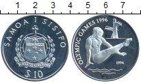 Изображение Монеты Самоа 10 долларов 1994 Серебро