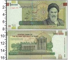 Изображение Банкноты Азия Иран 100000 риал 2010  UNC
