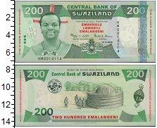 Изображение Банкноты Свазиленд 10 долларов 2008  UNC