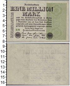 Изображение Банкноты Веймаровская Республика 1000000 марок 1923  UNC-