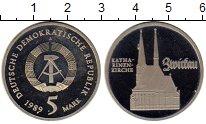 Изображение Монеты ГДР 5 марок 1989 Медно-никель Proof