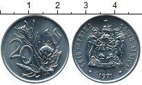 Изображение Монеты Африка ЮАР 20 центов 1971 Медно-никель