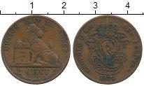 Изображение Монеты Бельгия 2 сантима 1870 Медь