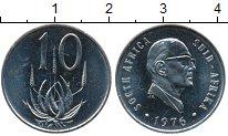 Изображение Монеты ЮАР 10 центов 1976 Медно-никель