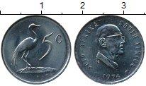 Изображение Монеты Африка ЮАР 5 центов 1976 Медно-никель