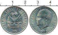 Изображение Монеты Гаити 10 сантим 1975 Медно-никель