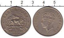 Изображение Монеты Восточная Африка 1 шиллинг 1950 Медно-никель  Георг VI