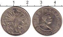 Изображение Монеты Европа Ватикан 100 лир 1999 Медно-никель
