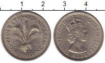 Изображение Монеты Африка Нигерия 1 шиллинг 1961 Медно-никель