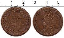 Изображение Монеты Канада 1 цент 1917 Бронза