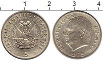 Изображение Монеты Гаити 5 центов 1975 Медно-никель
