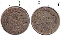 Изображение Монеты Нидерландская Индия 1/10 гульдена 1942 Серебро