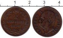 Изображение Монеты Европа Италия 2 сентесимо 1898 Медь