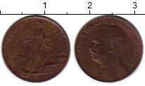 Изображение Монеты Италия 1 сентесимо 1916 Медь  Виктор Эммануил III