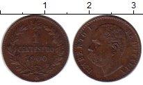Изображение Монеты Европа Италия 1 сентесимо 1900 Медь