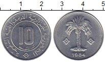 Изображение Монеты Тунис 10 сантим 1984 Алюминий
