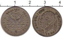Изображение Монеты Гаити 5 сентим 1905 Медно-никель