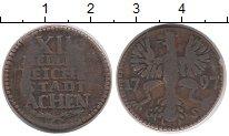 Изображение Монеты Германия Ахен 12 геллеров 1797 Медь VF