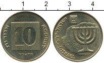 Изображение Дешевые монеты Израиль 10 агор 2002