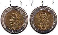 Изображение Монеты ЮАР 5 ранд 2008 Биметалл XF