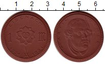 Изображение Монеты Германия : Нотгельды 1 марка 1921 Фарфор UNC Айзенах