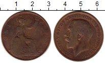 Изображение Монеты Европа Великобритания 1 пенни 1920 Бронза VF