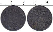 Изображение Монеты Европа Германия 10 пфеннигов 1919 Цинк VF
