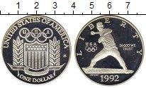 Изображение Монеты Северная Америка США 1 доллар 1992 Серебро Proof-