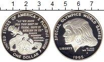 Изображение Мелочь Северная Америка США 1 доллар 1995 Серебро Proof-