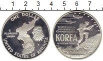 Изображение Монеты Северная Америка США 1 доллар 1991 Серебро Proof-