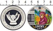 Изображение Монеты Конго 240 франков 2016 Серебро Proof