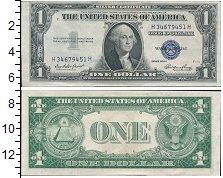 Изображение Банкноты США 1 доллар 1935  XF+