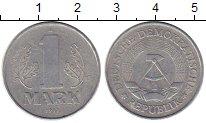 Изображение Монеты ГДР 1 марка 1977 Алюминий XF