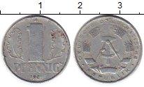 Изображение Монеты ГДР 1 пфенниг 1961 Алюминий XF А