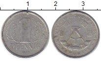 Изображение Монеты ГДР 1 пфенниг 1977 Алюминий XF